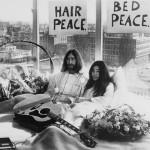 John Lennon and Yoko Ono 1969