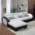 canape d'angle en cuir design youki